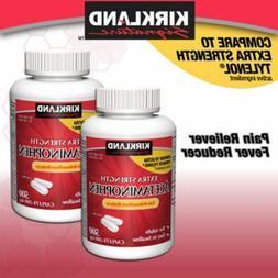 extra strength acetaminophen 500 mg 1 000