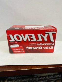 Tylenol Extra Strength Acetaminophen 500mg,  225ct Caplets