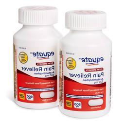 Equate Extra Strength Acetaminophen 500mg Caplets, 2x250ct