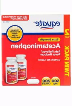 Equate Extra Strength Acetaminophen Pain 500mg 200 ct