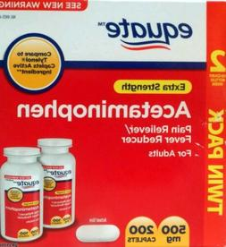 Equate Extra Strength Acetaminophen Pain Reliever 500 Mg 200