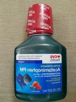 CVS Extra Strength Adult Liquid acetamenophen 1000mg/Diphenh