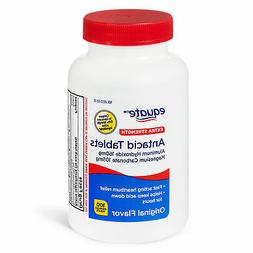 Equate Extra Strength Antacid Chewable Tablets, 160 mg, 100