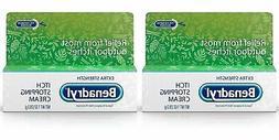 Benadryl Extra Strength Anti Itch Cream 1 Oz Tube  01/2022
