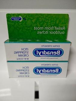Benadryl Extra Strength Anti-Itch Cream - 1 oz. Each  New Bo
