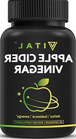 Extra Strength Apple Cider Vinegar Pills – All Natural Wei