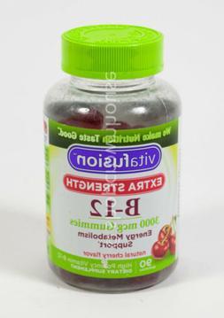 Vitafusion Extra Strength B12 Gummies, 90 Count