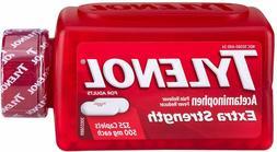Tylenol Extra Strength Caplets, 500mg 325 ct. Exp 01/2024