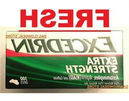 Excedrin Extra Strength Caplets for Headache Relief, 300 cou