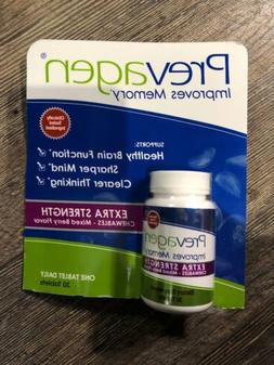 Prevagen Extra Strength Chewables Berry Flavor 30 tablets Im
