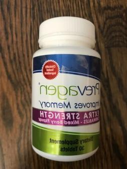 extra strength chewables memory improvement tablets mixed