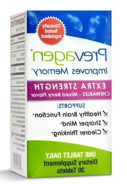 PREVAGEN  Extra Strength Chewables Mixed Berry Flavor Improv