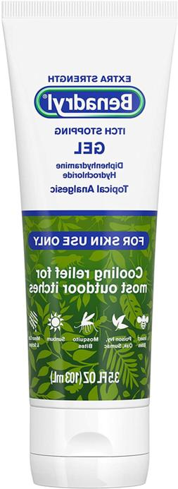Benadryl Extra Strength Cooling Relief Anti-Itch Gel, Diphen