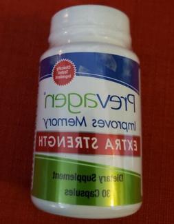 Prevagen Extra Strength Dietary Supplement  30 Capsules NO E
