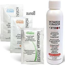 Extra Strength Keratin Forte treatment 120ml USA made Brazil