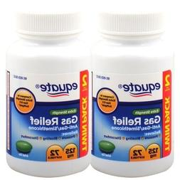 Equate Extra Strength 125 mg Gas Relief, 72-softgels Bottle