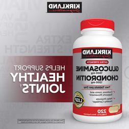 extra strength glucosamine chondroitin 220 tablets 1200mg