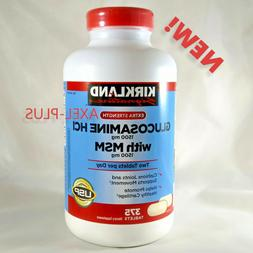 Kirkland Signature Extra Strength Glucosamine HCI 1500MG-375