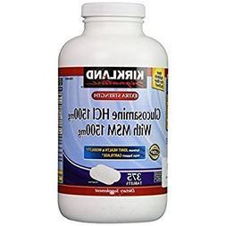 Kirkland Signature Extra Strength Glucosamine HCI 1500mg, Wi