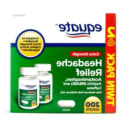 extra strength headache relief 2 x 100