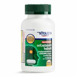 Equate Extra Strength Headache Relief 200ct Acetaminophen, A