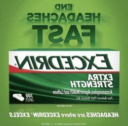 Excedrin Extra Strength, Headache Relief, Acetaminophen 300
