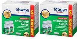 Equate Extra-Strength Headache Relief Caplets 2 x 200 ct FRE