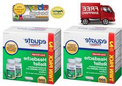 Equate Extra Strength Headache Relief Caplets, Aspirin Caffe