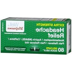 Walgreens Extra Strength Headache Relief Quick Gels Gelcaps,