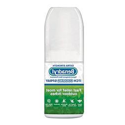 Benadryl Extra Strength Itch Cooling Spray 2 Oz