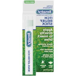 Benadryl Extra Strength Itch Relief Stick, 6 Count