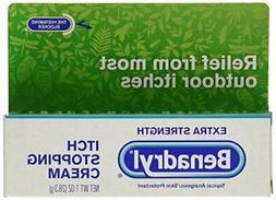 Benadryl Extra Strength Itch Stopping Cream, 1 Ounce