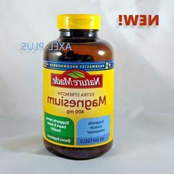 Nature Made Extra Strength Magnesium 400 mg 180 Liquid Softg