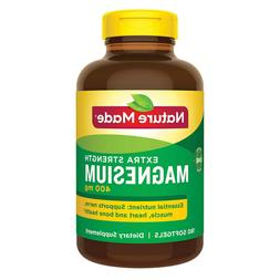 Nature Made Extra Strength Magnesium 400 mg, 180 Softgels