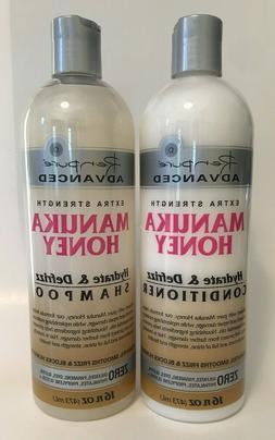 extra strength manuka honey shampoo and conditioner