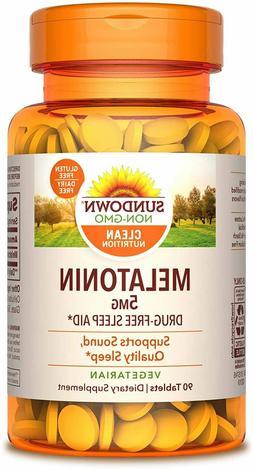 Sundown Naturals Extra Strength Melatonin 5 mg Tablets - 60