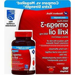 Member's Mark Extra Strength Omega-3 Krill Oil Dietary Suppl