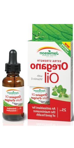 Jamieson Extra Strength Oregano Oil with Vitamin E 2 x 25ml