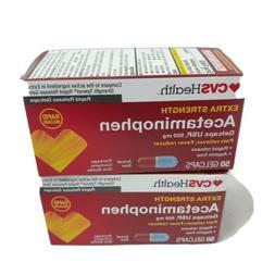 Equate Extra Strength Pain Relief, 2 pack, Acetaminophen Cap