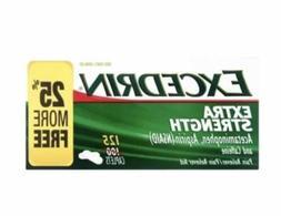 Excedrin Extra Strength Pain Reliever Acetaminophen 125 Capl