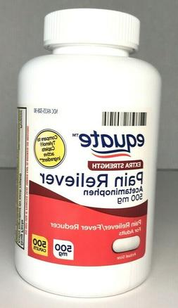 Equate Extra Strength Pain Reliever Acetaminophen 500mg 200