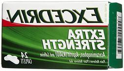 Excedrin Extra Strength Pain Reliever Caplets 24 caplets