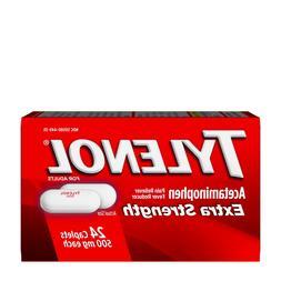 extra strength pain reliever fever reducer acetaminophen