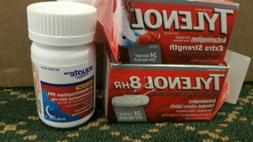 TYLENOL extra strength  RAPID GELCAP 24CT + tylenol 8 HR 24