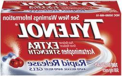 Tylenol Extra Strength Rapid Release Gelcaps, 100 Count Bott