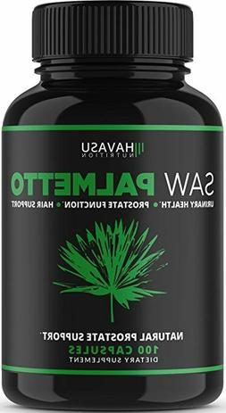 Extra Strength Saw Palmetto Supplement For Prostate Health &