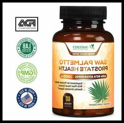 Extra Strength Saw Palmetto Supplement & Prostate Health wit