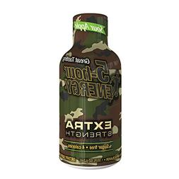 Extra Strength 5-hour ENERGY Shots – Sour Apple Flavor –