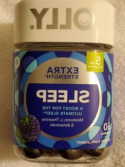 Olly Extra Strength Sleep Gummies  Blackberry Zen, Dietary S