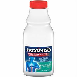 Gaviscon Extra Strength Soothing Cool Mint Liquid 12oz Exp 1